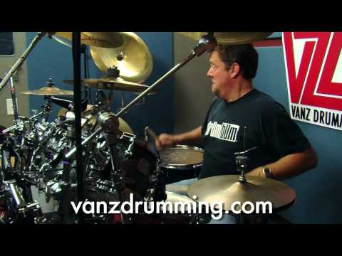 Drum Lessons - Bodacious Drum Fill w/ Cowbell -...