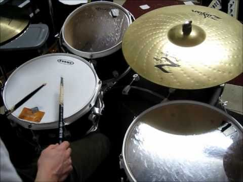 DRUM LESSON: Cool Drum Fill