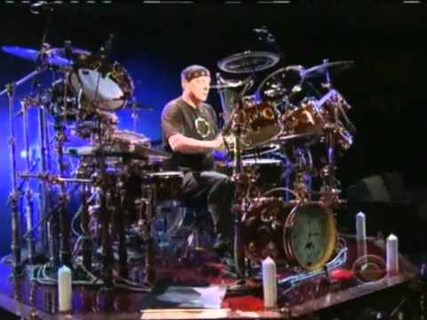 Neil Peart Drum Solo on Letterman 6/9/2011