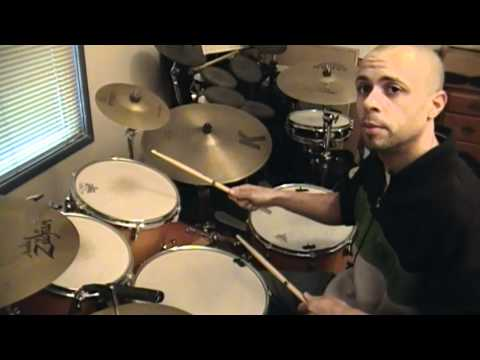 Awesome Fast Easy Paradiddle Fill - drum lessons by Cory Pullen