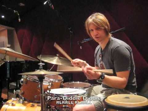 Uptempo (fast) Jazz Ride - Paradiddle-diddle Drum...