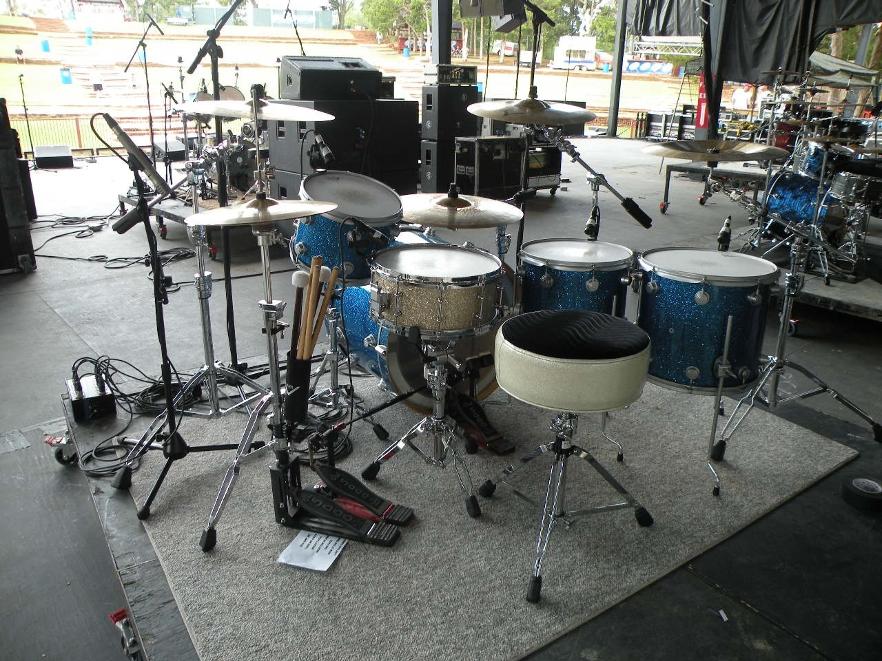 Post Your 1 Up 2 Down Drum Kit Set Re