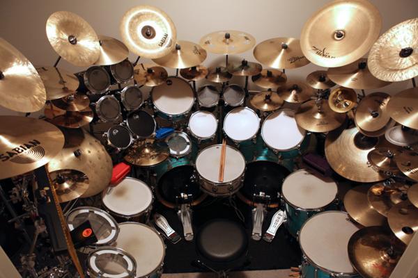 Ludwig monster drum set for Decor 52 fan celano ma dw