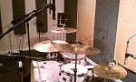 "custom shine kit in the studio 26"" kick"