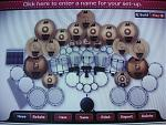 "my dream kit..    CYMBALS(all AA's)- 16,17,18,19"" medium thin; two 20"" medium crashes; one 18"" rocktagon crash; two 16"" and two 18"" regular chinas;..."