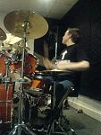 A few pics from band practice at our local studio =]